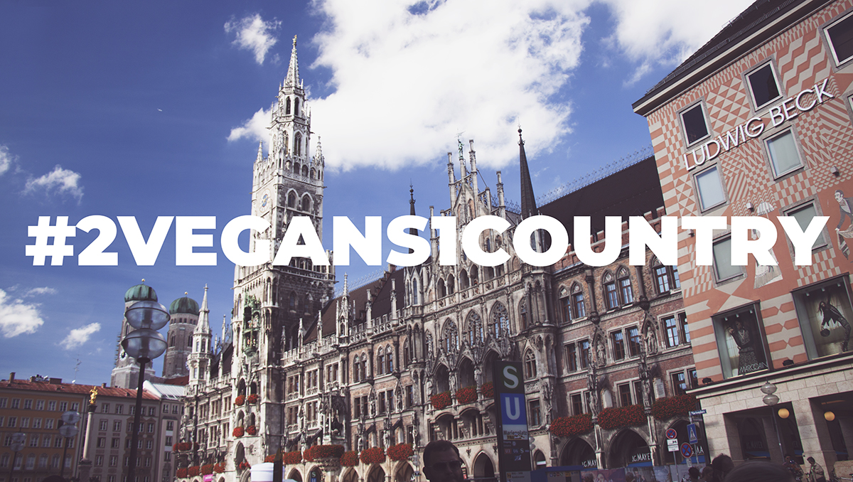 2 vegans 1 country germany - munich