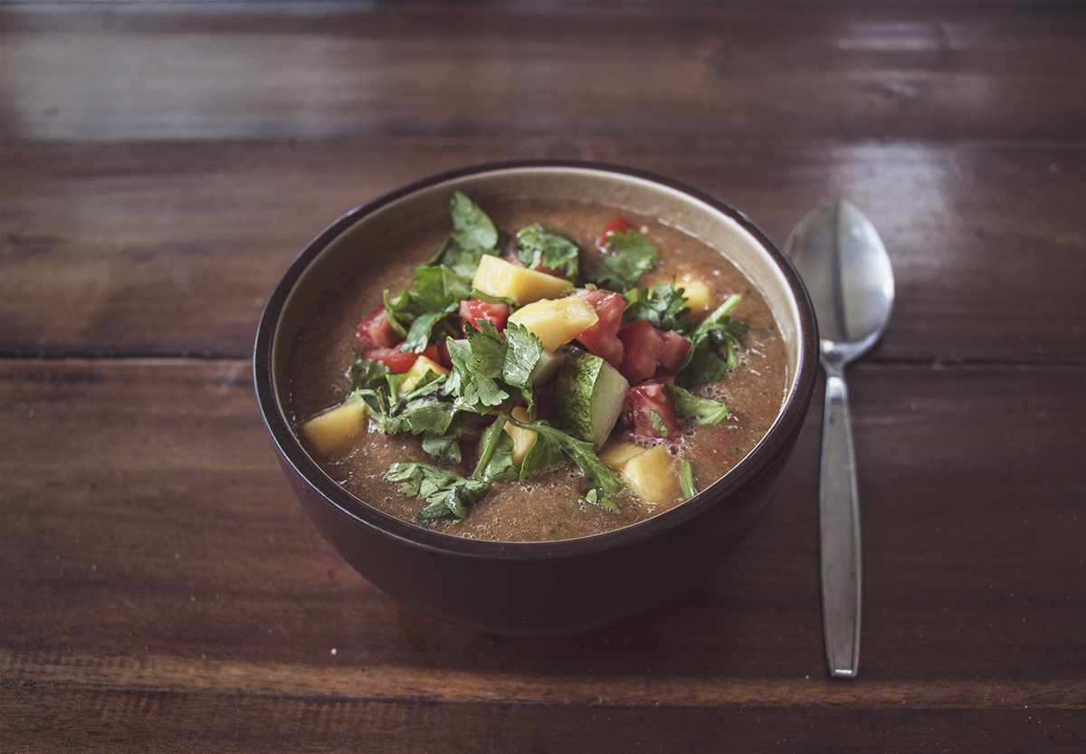 vegan gazpacho recipe