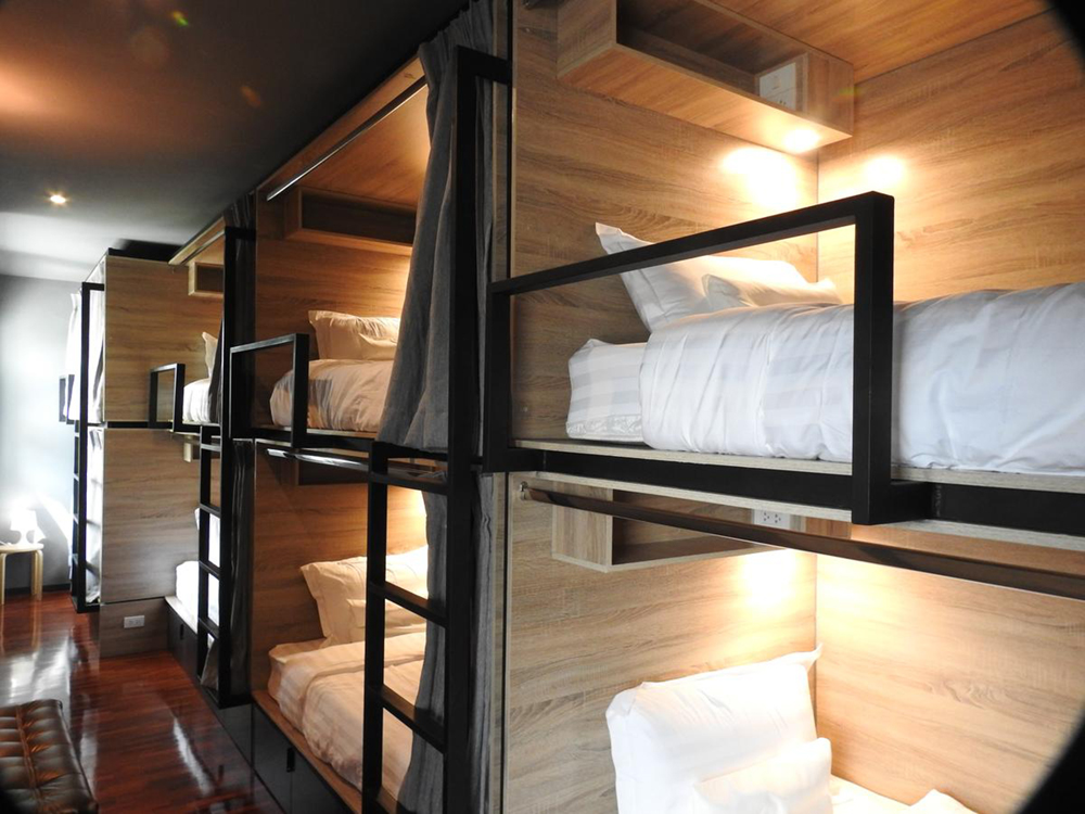 to bed poshtel hostel in chiang mai